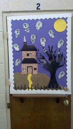 Halloween door!!!