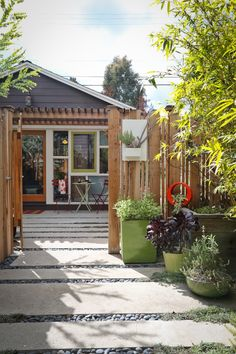 After Annette Gutierrez renovated her 1908 Craftsman house, built a pool, and added a hot tub, her attention turned to . . . the garage. Which could, she realized, be transformed into an adorable cottage. Goodbye, garage.