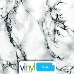 Our Sticky Vinyl Fablon Premium Grade Marble, is a high quality White Marble effect self adhesive material, which is suitable for covering all sorts of surfaces. #be_inspired #inspire_others #vinyl #Fablon