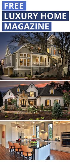 Inspiring Luxury Home Plans And Images From Custom Luxury Model Homes