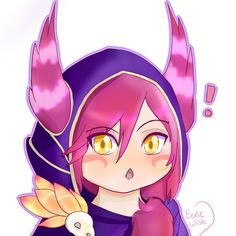 Xayah Chibi Icon by EerieWish
