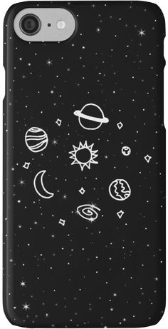 Space doodle • Also buy this artwork on phone cases, apparel, kids clothes, and more.