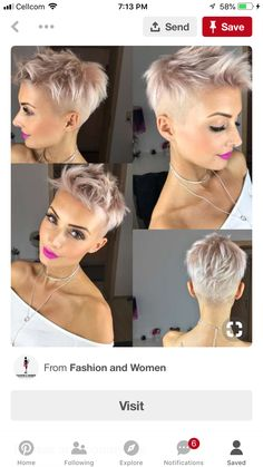 65 Latest Short Blonde Hair Ideas for 2019 - Love this Hair Blonde Highlights Short Hair, Ash Blonde Short Hair, Blonde Hair With Roots, Funky Short Hair, Super Short Hair, Short Hair Cuts, Short Hair Styles, Pixie Haircut Styles, Black Highlights