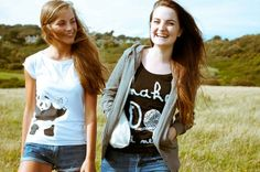 Make Do and Mend Top and Bamboo Panda Top | Award Winning Ethical Fashion from Rapanui