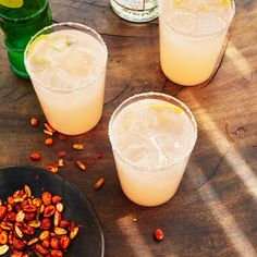 Mescal Paloma from Bon Appetit. If you use mezcal, choose a mild one that is not too smoky, like Amarás.