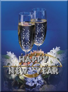 """""""Happy New Year GIF Here you can find an awesome collection about Happy New Year GIF Animated Wallpaper Screensaver. We hope you like those Happy New Year GIF and animated wallpapers. Happy New Year Animation, Happy New Year Pictures, Happy New Year Wishes, Happy New Year Greetings, Happy New Year 2018, Merry Christmas And Happy New Year, Happy Year, Happy Images, Moving Pictures"""