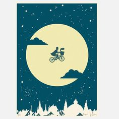 Full Moon! E.T.!