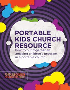 Portable KidsMin Preschool Bible, Bible Activities, Youth Ministry, Ministry Ideas, Kids Church, Church Ideas, Train Up A Child, Church Nursery, Programming For Kids