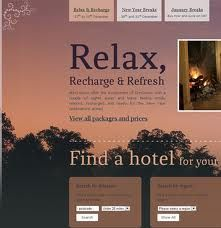website design for hotels - Google Search