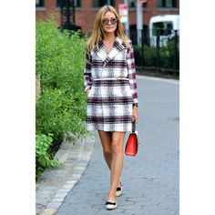 Transition to Fall With Olivia Palermo's Awesome Styling Tip found on Polyvore