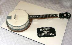 Banjo cake