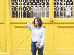 Look: Casual Friday  #fashion #look #blogger #jeans #outfit #style #streetstyle #zara #stripes