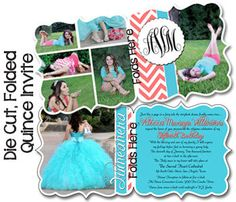 Quinceanera Invitation Sweet 15 Invitation Mis Quince Anos