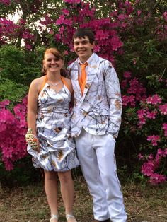 My very talented friend made these prom outfits for her handsome son and his beautiful girlfriend!! #rockedit!
