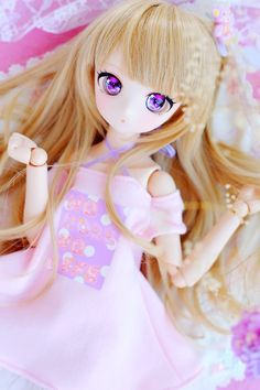 Kawaii Doll, Anime Kawaii, Anime Chibi, Anime Dolls, Blythe Dolls, Pretty Dolls, Beautiful Dolls, Manga, Doll Face Paint