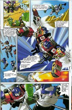 Wing saber comic page 3