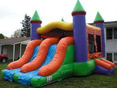 Double Slide Castle - Bounce House : Best Party Idea EVER!!!