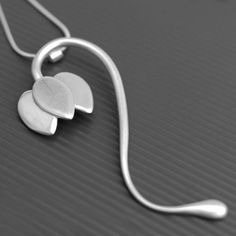 Fritillaria necklace, commission necklace made from silver by LWSilver. #jewellery #lwsilver #wedding #necklace #handmade #fritillaria