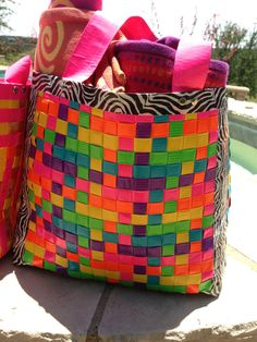 Duck Tape Bags by TRayDesigns on Etsy