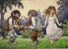 Troll's Dance by Rolf Lidberg