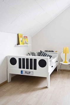 into a Jeep. | 15 Ikea Hacks For Your Child's Dream Bedroom