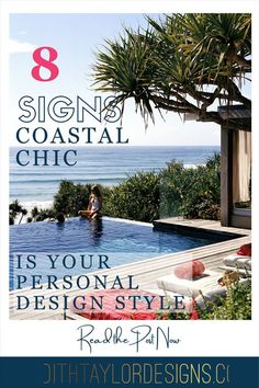 While there are many interpretations of what is coastal chic, there's a lot of similarities, too! If you feel drawn to the outdoors, love to live a vacation-like lifestyle, are an outdoors person, or love the color blue, then coastal chic might just be your design style of choice! E Design, Design Trends, Design Ideas, Interior Design, Best Paint Colors, Nautical Stripes, New England Style, Traditional Looks, Beach Art
