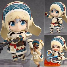 Nendoroid Monster Hunter Urcusis Female Hunter | Games & Toys on Carousell