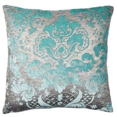 "Juliette Pillow 24"" - Aquamarine from Z Gallerie"