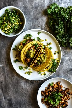 BBQ Jackfruit Tacos + Kale Corn Slaw (Vegan+GF) – Sincerely Tori
