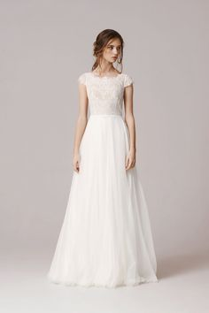 Nice A Line New Size Wedding Dress
