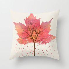 Maple Leaf Pillow Cover | dotandbo.com
