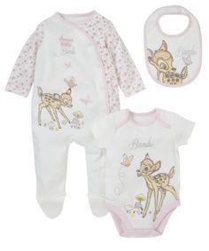 Bambi Set - 3 Piece - co-ordinated sets - Mothercare
