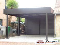 Carport aluminium carport pinterest abri voiture c - Carport alu belgique ...