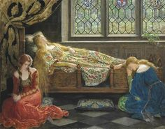 Sleeping Beauty - John Collier