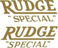 Rudge 6451  140x47mm £5.50 each