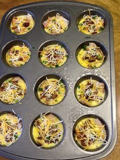 Egg Breakfast Muffins - perfect for freezing and reheating