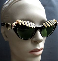 sunglasses designed by Elsa Schiaparelli