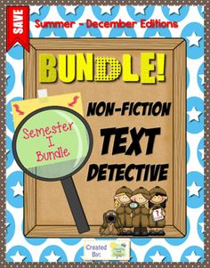 Uses an active reading strategy! Ten original super sleuth nonfiction text passages with who/what/when/where/why questions. To prove basic comprehe. 4th Grade Reading, Student Reading, Teaching Reading, Guided Reading, Teaching Ideas, Reading Passages, Reading Comprehension, Short Passage, Text Evidence