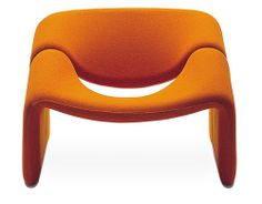 Pierre Paulin f-598  Pierre Paulin 1973  Holland Artifort  http://hivemodern.com/pages/product182/artifort-groovy-chair