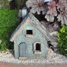 Brookside Fairy Cottage: Fairy Garden Miniature House | Fairy, Gardens And  Fairy Houses