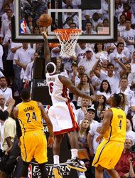 Eastern Conference Finals: Game 1 | (1) Miami #Heat over (3) Indiana #Pacers 103-102. Miami leads series 1-0.