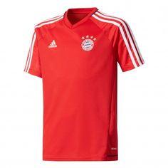 adidas Bayern München trainingsshirt junior rood De Wit Schijndel