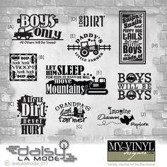DIGITAL DOWNLOAD ... in AI, EPS, GSD, & SVG formats @ My Vinyl Designer #boyvinyldesigns
