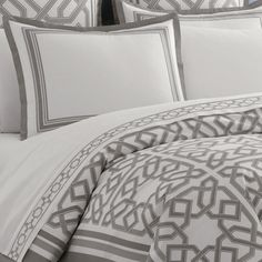 grey parish duvet cover from Jonathan Adler  Project Décor