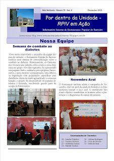 Restaurante Popular do Barreiro: Informativo: Rogério Pinto- Auxiliar de Cozinha funda informativo interno