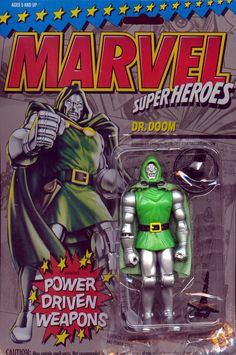 toy biz dr doom action figures | Dr. Doom (Marvel Super Heroes)