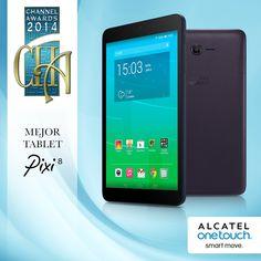 ALCATEL ONETOUCH está participando en los Channel Awards ¡Ayúdanos a ganar votando por nuestra PIXI 8 en la categoría de Mejor Tablet! Entra en www.channelawards.com para más información!