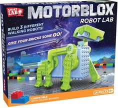 575d205e9d6a SmartLab Toys MotorBlox Robot Lab  involved mechanics legs Robots For Kids