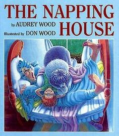 The Napping House by Audrey Wood. Not only teaches lessons on cause & effect, but AMAZING artwork!