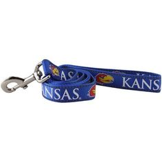Pet Goods Manufacturing NCAA Kansas Jayhawks Dog Lead, Large -- You can find out more details at the link of the image. (This is an affiliate link and I receive a commission for the sales) #PetDogs